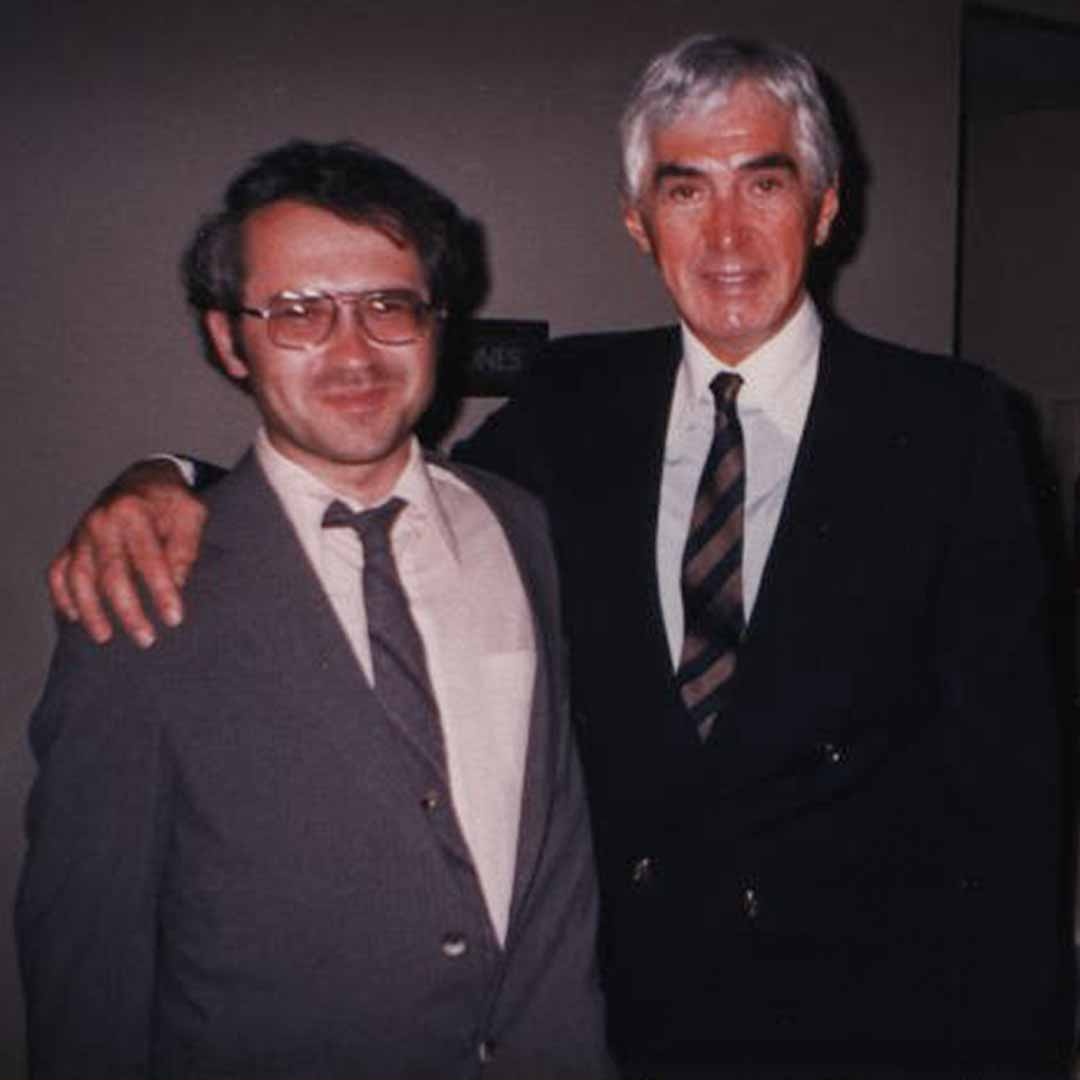 Darryl Tinnerstet and John DeLorean | DeLoreanTalk.com