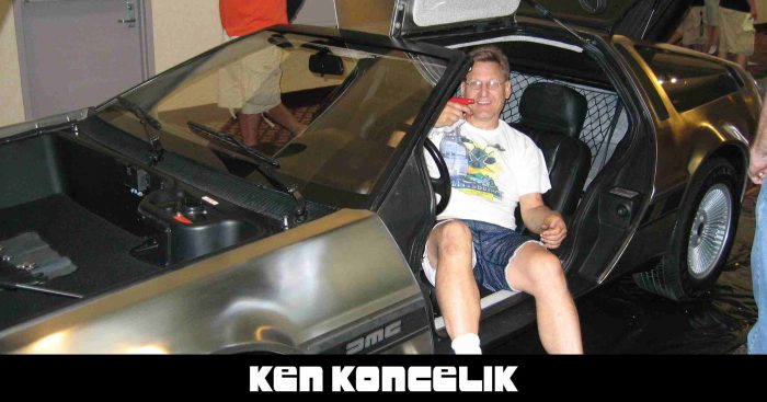 Ken Koncelik | DeLoreanTalk.com