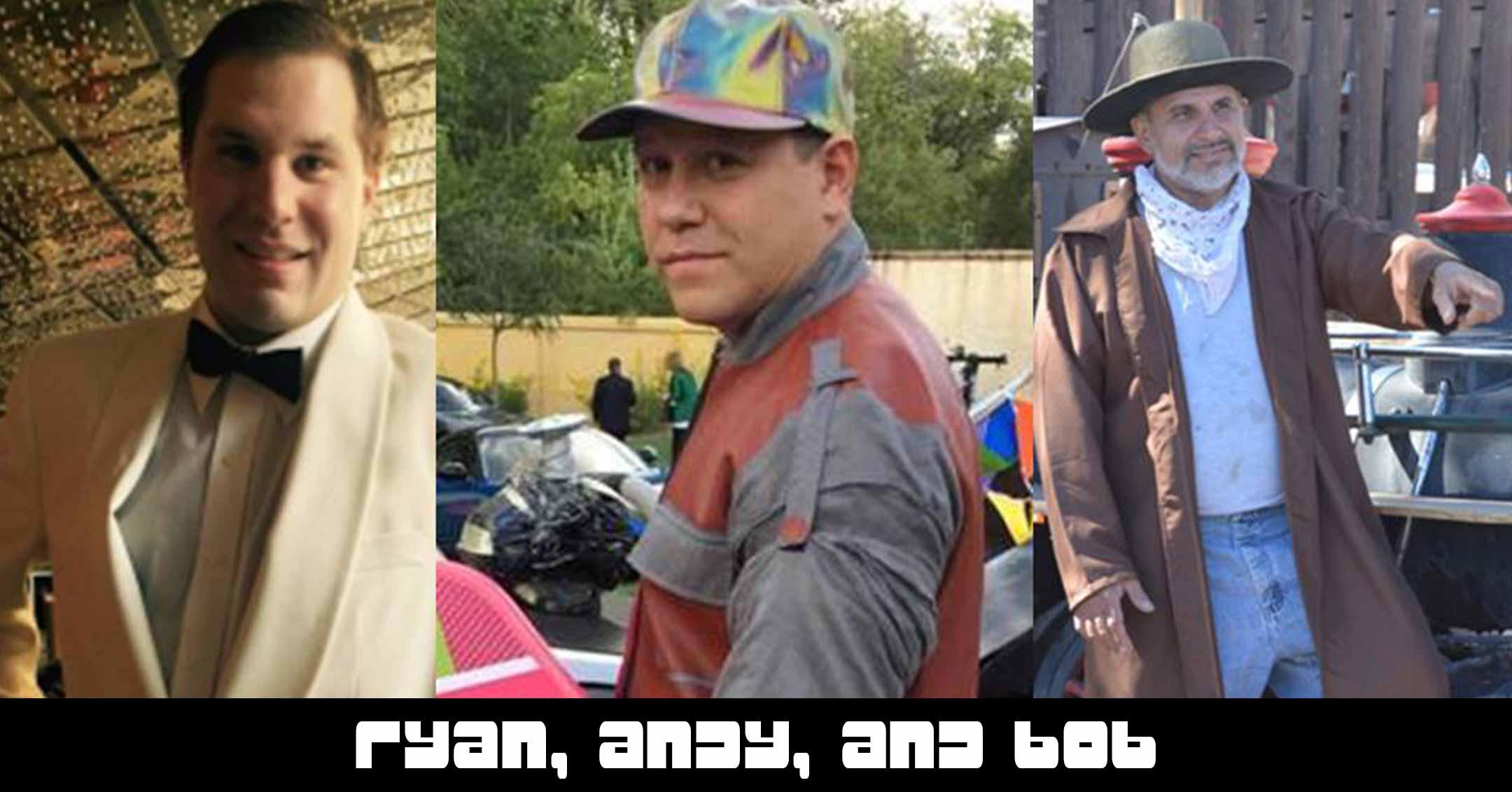 005 – Ryan, Andy, and Bob